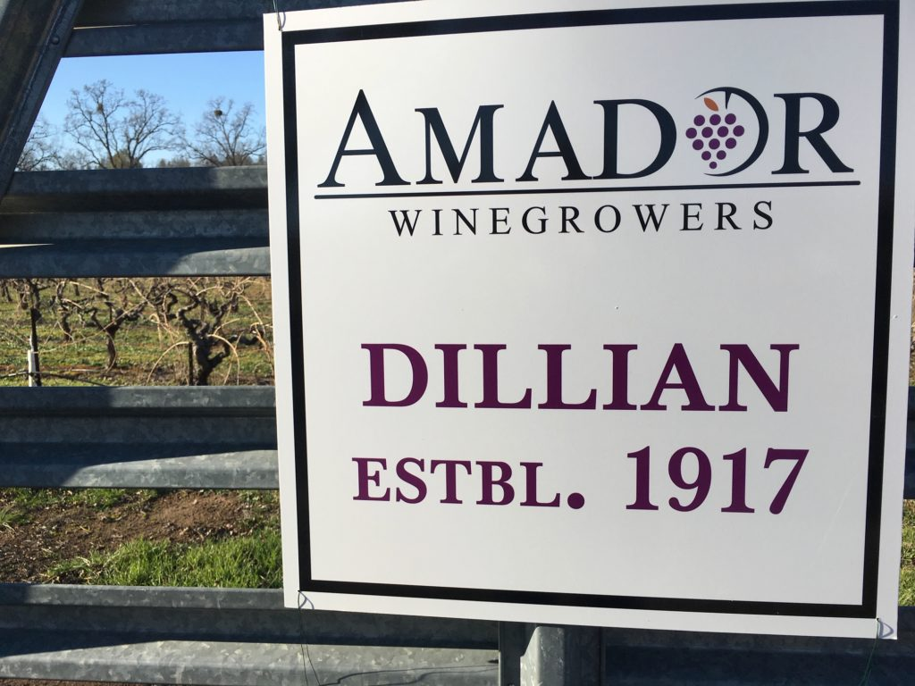 Dillian Winery, Amador Winegrowers